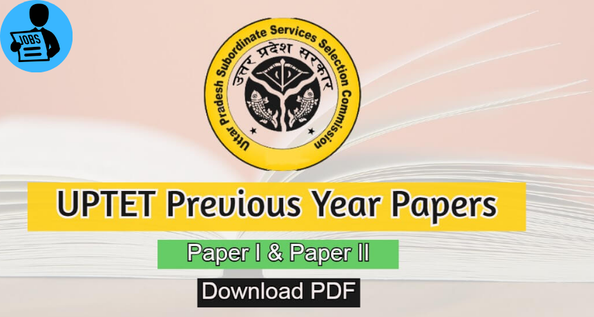 [PDF] UP TET Question Paper in Hindi   English   WeJobStation